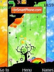 Colour Tree theme screenshot