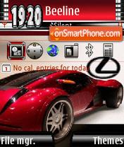 Red Lexus es el tema de pantalla