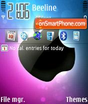 The Apple 2 theme screenshot