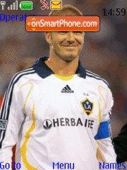 David Beckham es el tema de pantalla