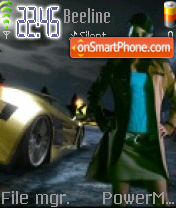 Nfs Carbon 11 es el tema de pantalla