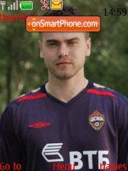 Igor Akinfeev theme screenshot