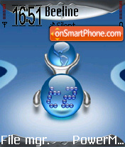 T2 theme screenshot