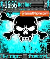 Neon Skull es el tema de pantalla