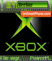 Xbox es el tema de pantalla