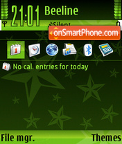 StarGreen tema screenshot
