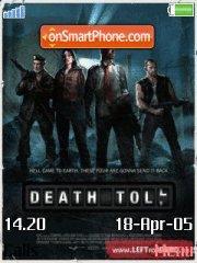 Left 4 Dead death toll es el tema de pantalla