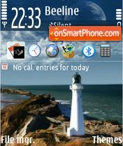 Lighthouse 01 tema screenshot