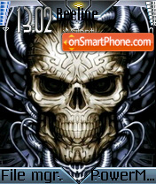 Metal Skull es el tema de pantalla
