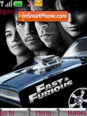 Fast & Furious theme screenshot