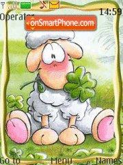Cute Sheep es el tema de pantalla