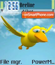 Birdie es el tema de pantalla