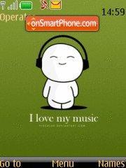 I Love Music es el tema de pantalla