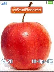 Apples es el tema de pantalla
