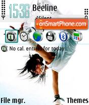 Dance 06 theme screenshot