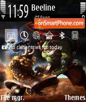Warcraft 07 theme screenshot