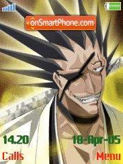 Zaraki Kenpachi theme screenshot