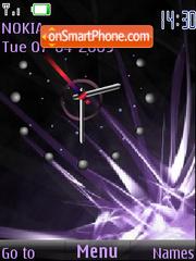 SWF clock animated theme screenshot