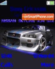 Nissan Skyline R34 GT-R es el tema de pantalla