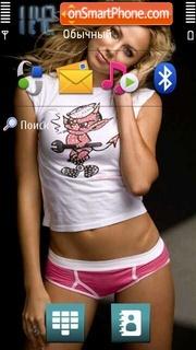 Stacy Keibler 03 theme screenshot