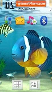 Aquarium Clownfish theme screenshot