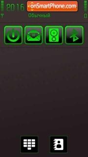 Neon Green theme screenshot