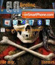 Dark fire theme screenshot
