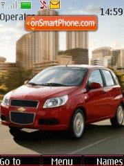 Chevrolet Aveo theme screenshot