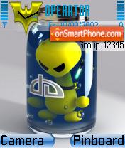 Bottled es el tema de pantalla