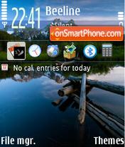 River 03 tema screenshot