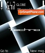 Techno - Blaze theme screenshot