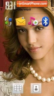 Jessica Alba 07 theme screenshot