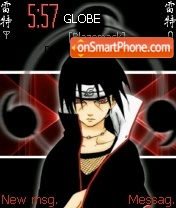 Uchiha itachi theme screenshot