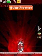 Ac Milan Fc theme screenshot