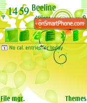 Green Tnd theme screenshot