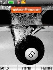 Billiard Ball theme screenshot