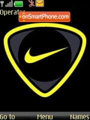 Nike Yellow theme screenshot