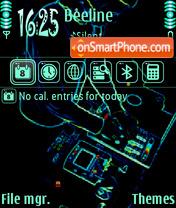 Neondj theme screenshot