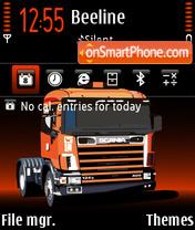 Power Truck FP2 Icon es el tema de pantalla