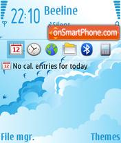 Over The Cloud es el tema de pantalla