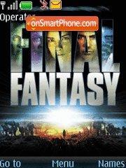 Final Fantasy es el tema de pantalla