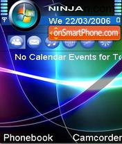 Vista Mood theme screenshot