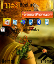 Magic Woman theme screenshot