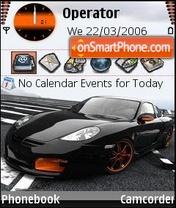 Porsche tuned theme screenshot