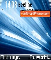 Ice Shine 01 es el tema de pantalla