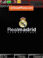 Real Madrid Fc 01 theme screenshot