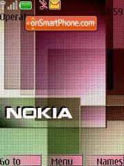 Nokia Logo es el tema de pantalla