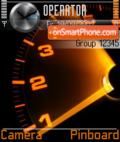 Speedometer theme screenshot