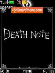 Death Note 04 theme screenshot