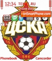 FC CSKA 01 theme screenshot